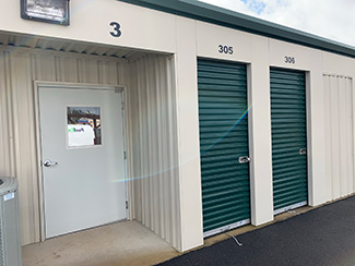 24 hour access to storage unit